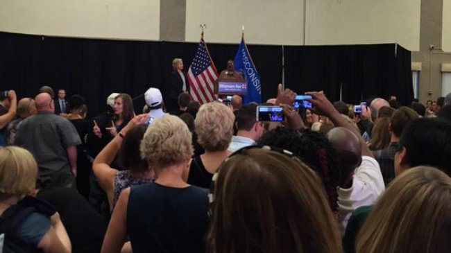 Hillary Clinton makes first Wisconsin stop of campaign