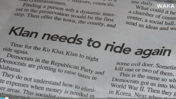 Black editor at paper that urged Klan to 'ride again' steps down