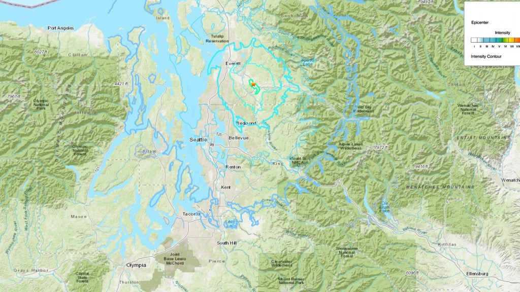 Magnitude-4.6 earthquake shakes Pacific Northwest
