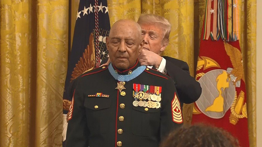 'He was always leading': Vietnam veteran receives Medal of Honor