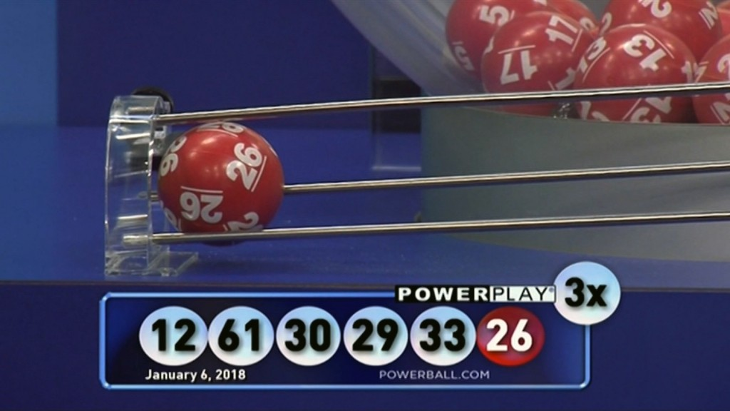 Powerball drawing: Winner declared in Saturday's $559.7 million jackpot lottery