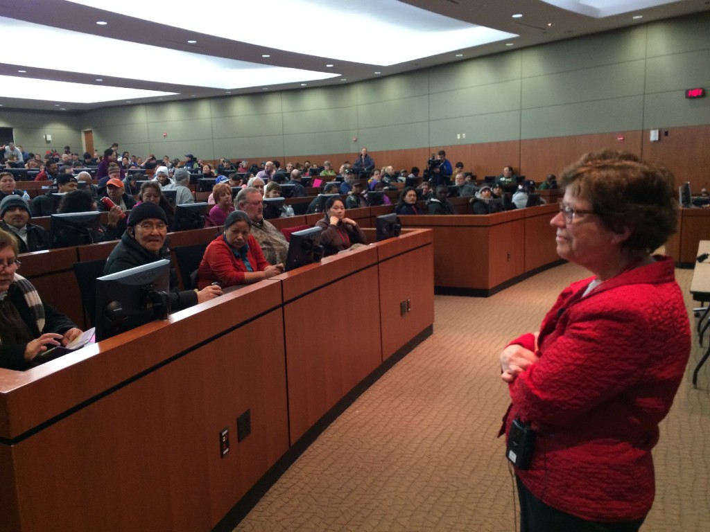 UW chancellor holds late night budget discussion
