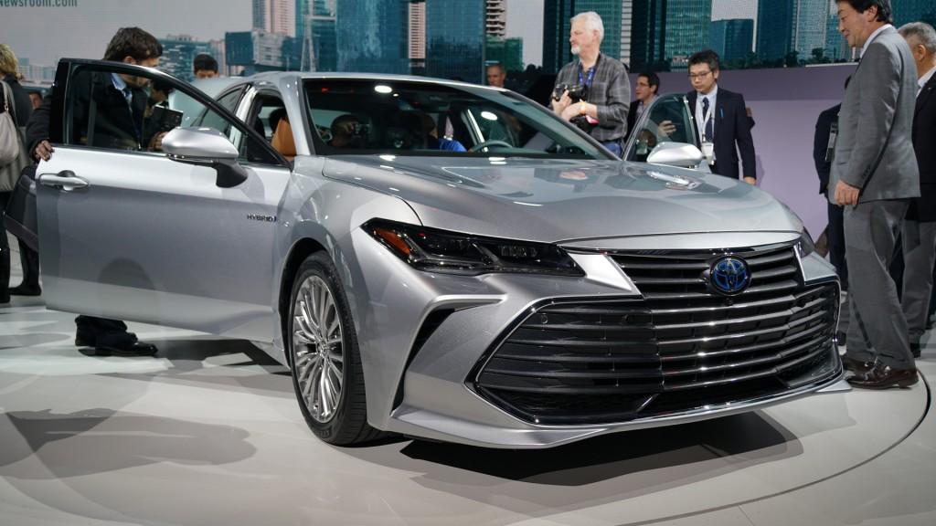 Toyota makes big improvements to its biggest sedan