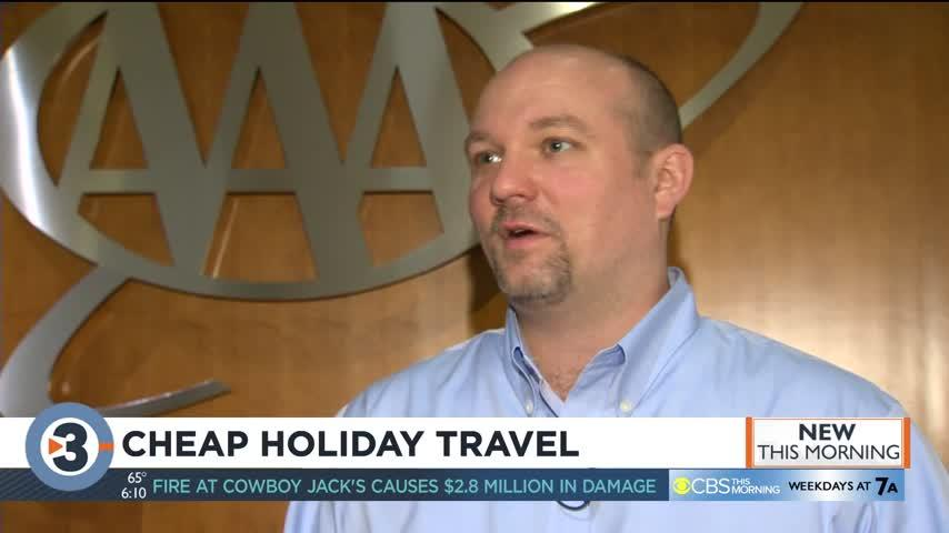 Flying for Christmas or Thanksgiving? AAA says book now