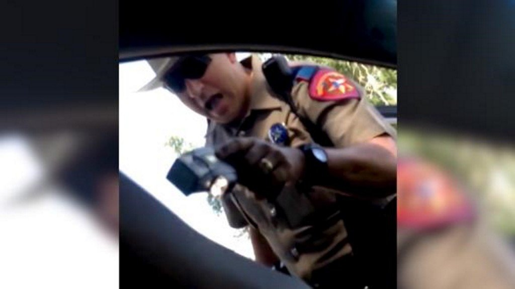 Sandra Bland recorded her own arrest, and the video was just released