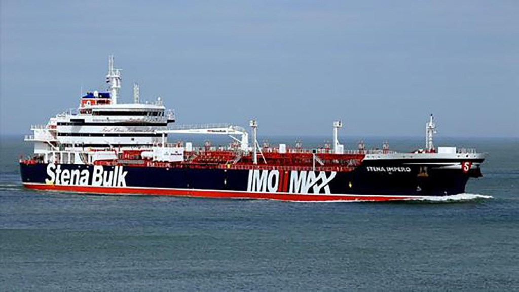 UK-flagged tanker leaves Iranian port after being held for months