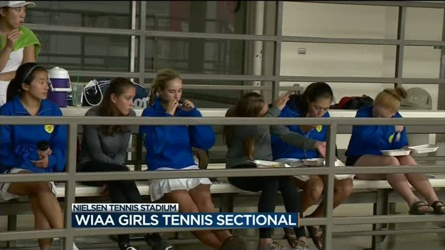 Lungova, West win girls tennis sectional