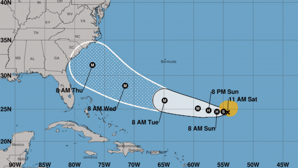 Florence could threaten East Coast as a major hurricane late next week