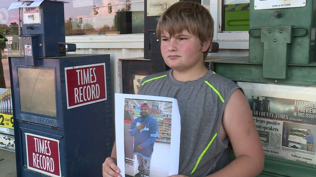 Okla. boy sells his toys to raise money for uncle's funeral