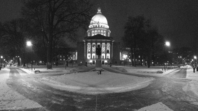 Madison crews work to clear snow, salt and sand streets