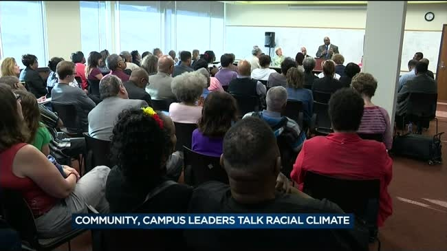 Community, UW campus leaders meet to discuss racial climate