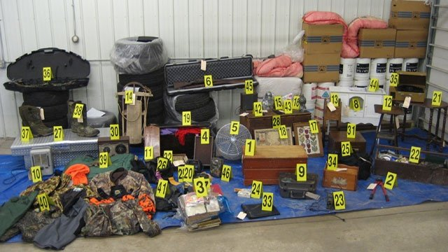 Police arrest burglary suspect, recover stolen items in Crawford Co.