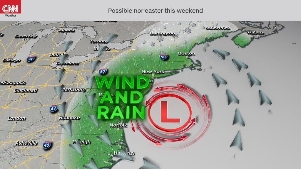 Willa could get a second life as this year's first nor'easter