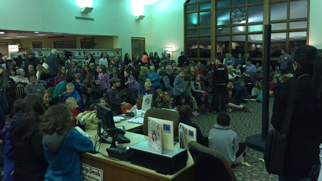 Mt. Horeb library hosts reading of book removed from school curriculum