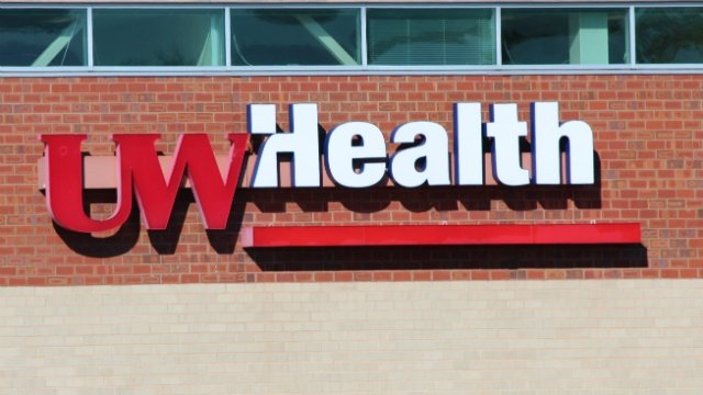 UW Health building logo