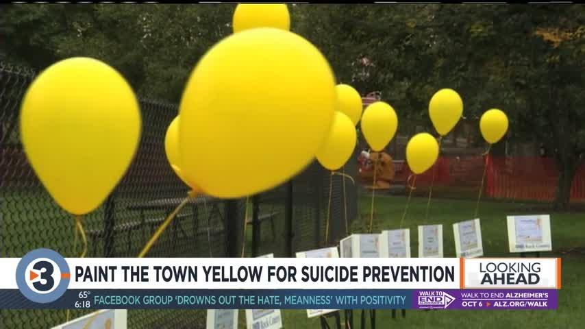 NAMI to hold Paint the Town Yellow for suicide prevention event