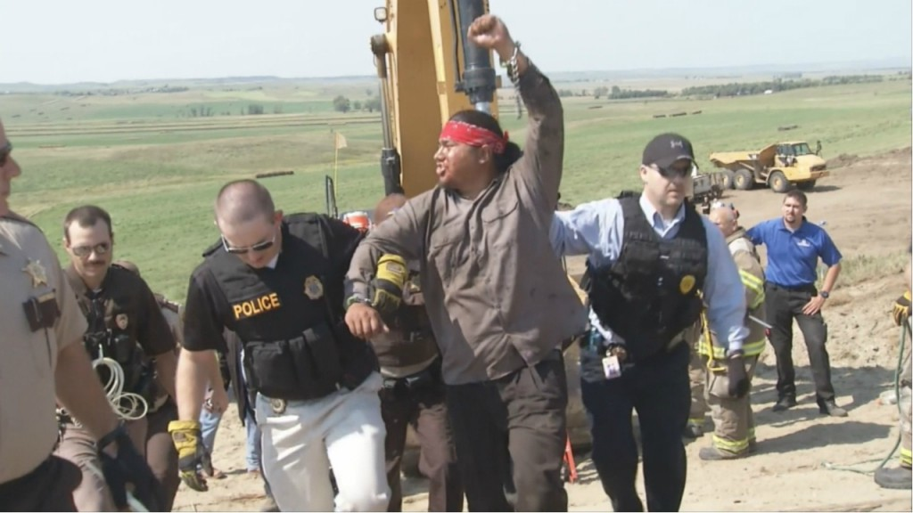 Mahoney: Sending deputies to North Dakota protests about public safety