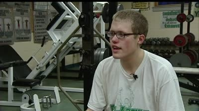 Wrestler with autism shines for Pecatonica High School