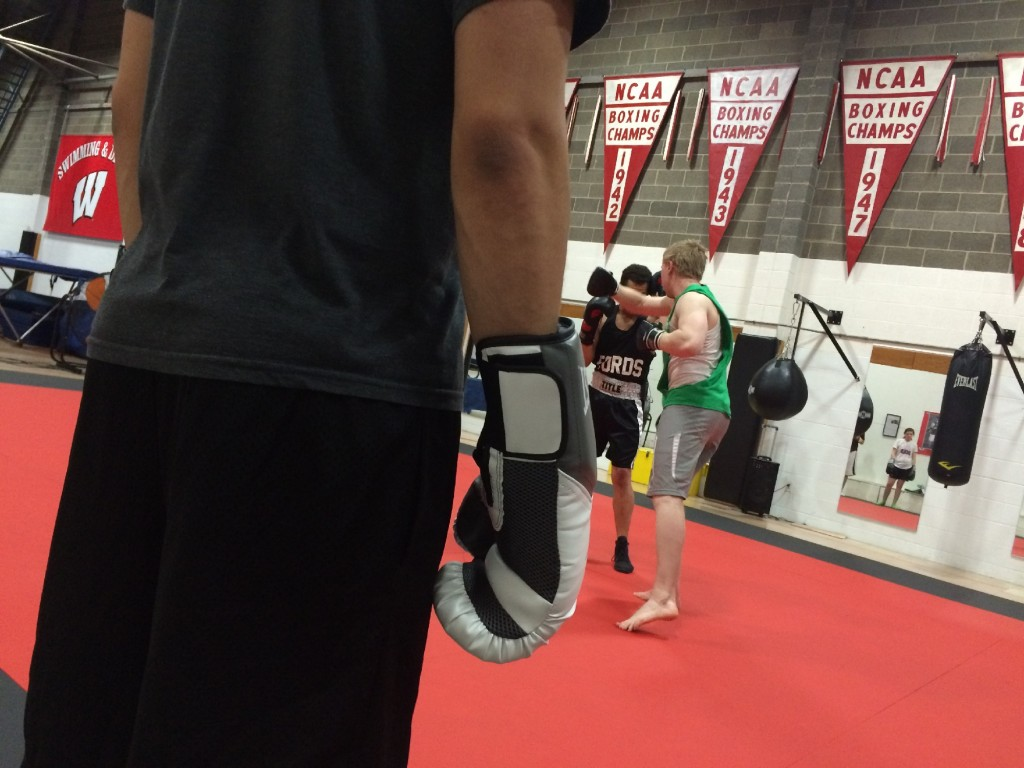 UW-Madison boxing club hoping Mayweather-Pacquiao fight spurs new members