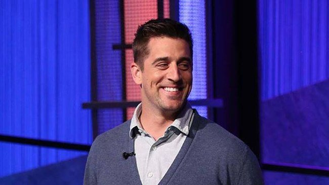 Aaron Rodgers on Jeopardy