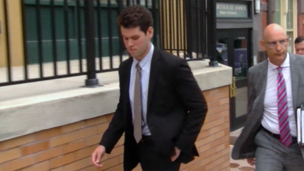 Guilty plea entered in hazing death of Penn State fraternity pledge