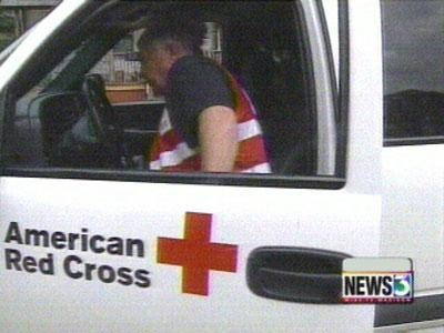 Red Cross volunteers on standby to go south
