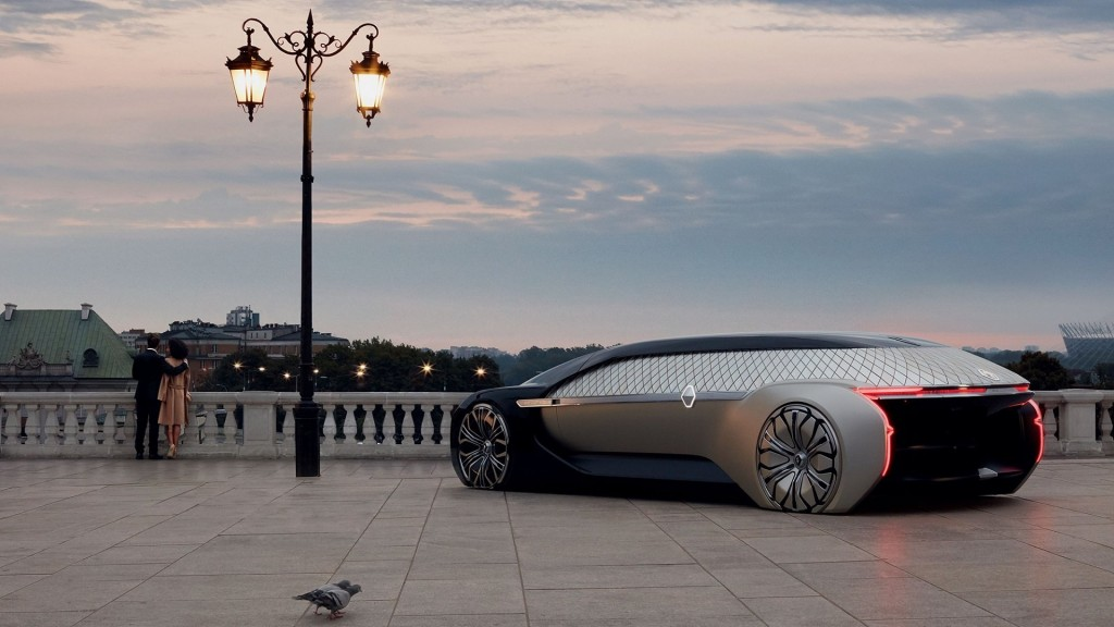 Renault's low-rolling concept car is made for the good life