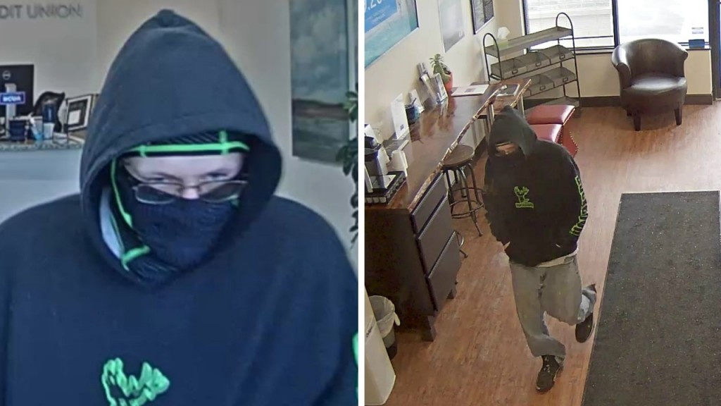 Milton credit union robbed; $1K reward being offered