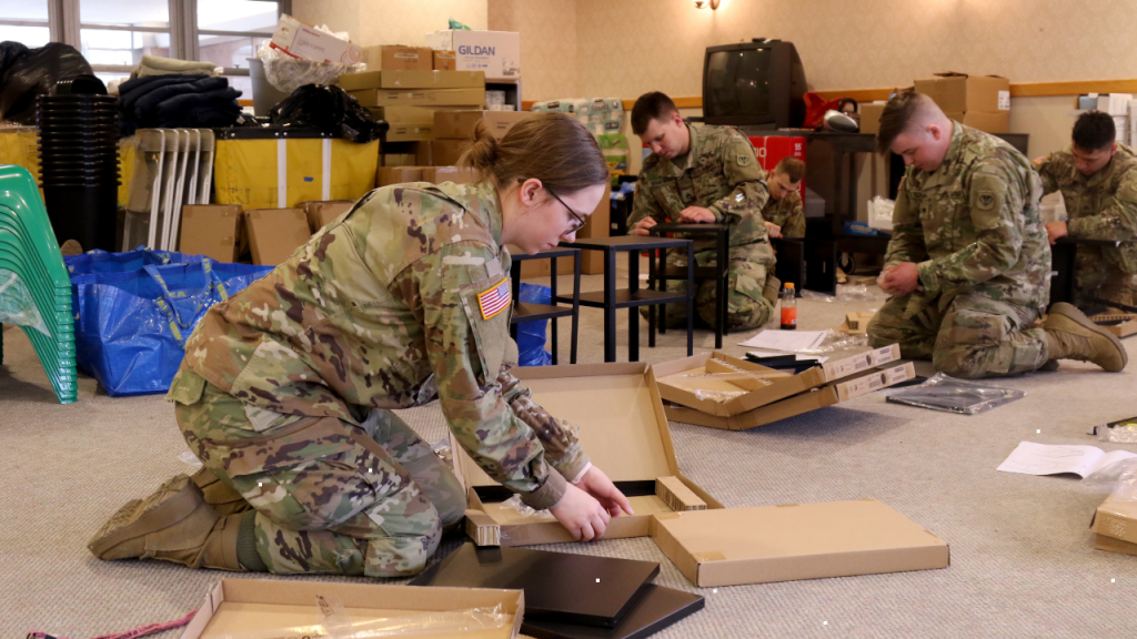 Wis. National Guard members help establish new isolation facility