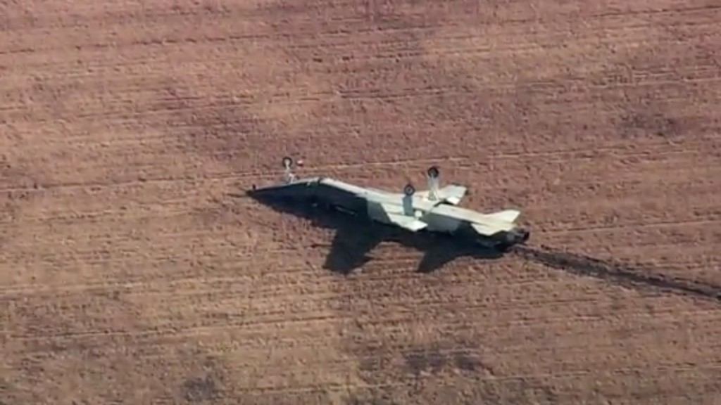Two Air Force pilots killed in jet 'mishap' in Oklahoma