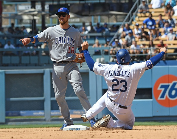 Dodgers beat Cubs in pitching duel