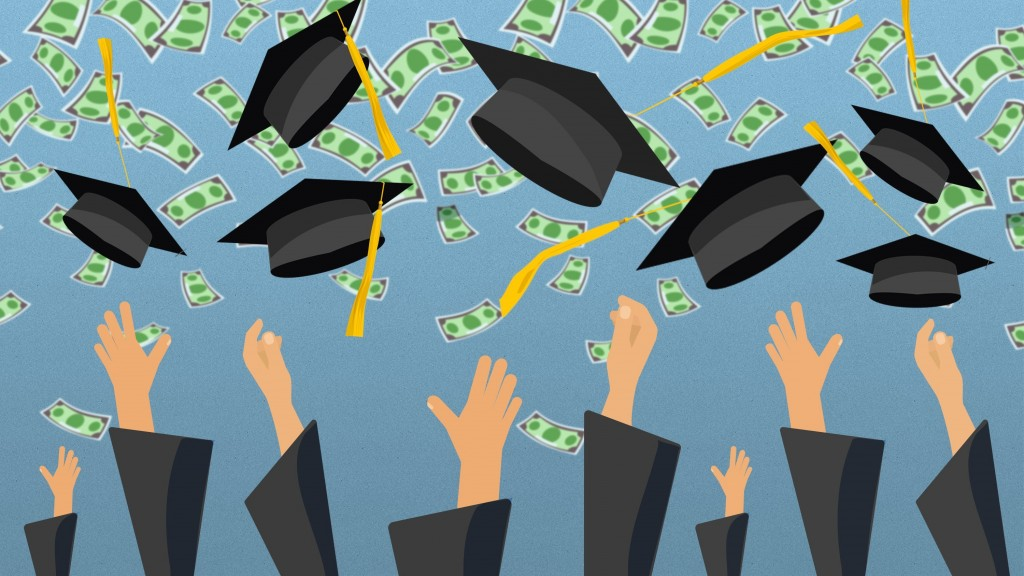 States with most, least student debt