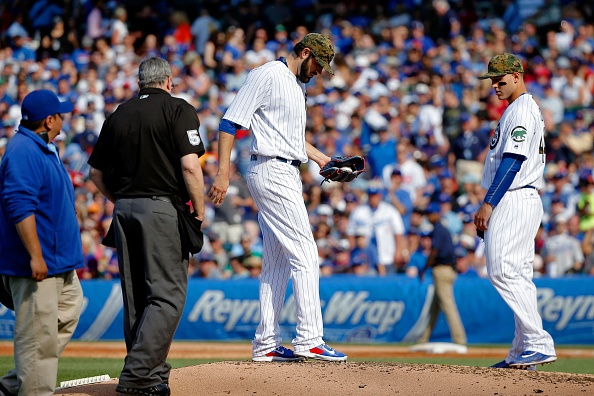 Cubs 'pen perfect for 7 innings in 1-hit win over Dodgers
