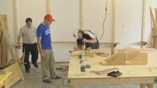 Tiny homes being built in Madison