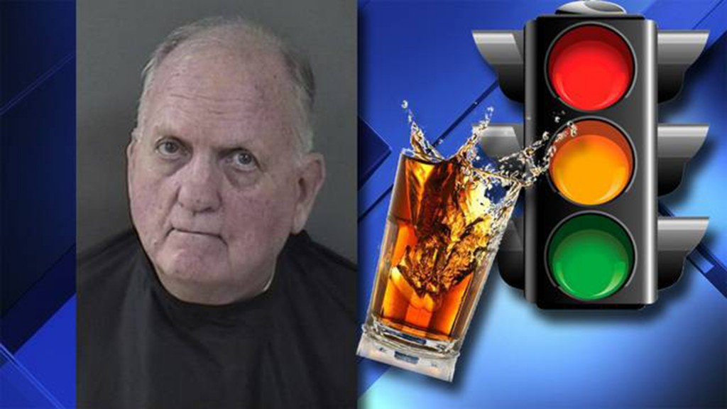 Florida man says he wasn't drinking while driving, only while stopped
