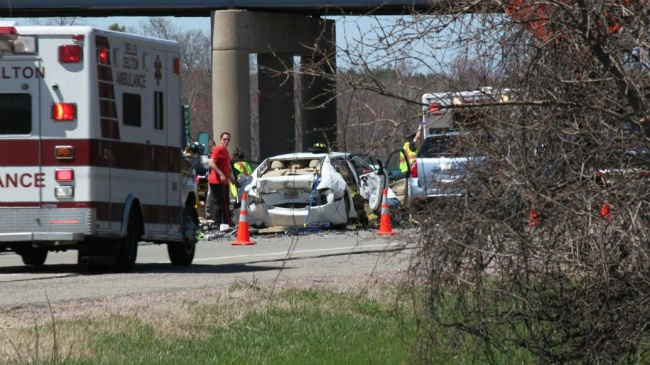 PHOTOS: Fatal 3-car crash delays interstate traffic near Lyndon Station