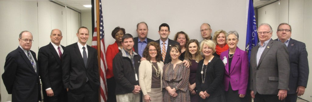 U.S. Rep. Paul Ryan visits Mercy Health Mall