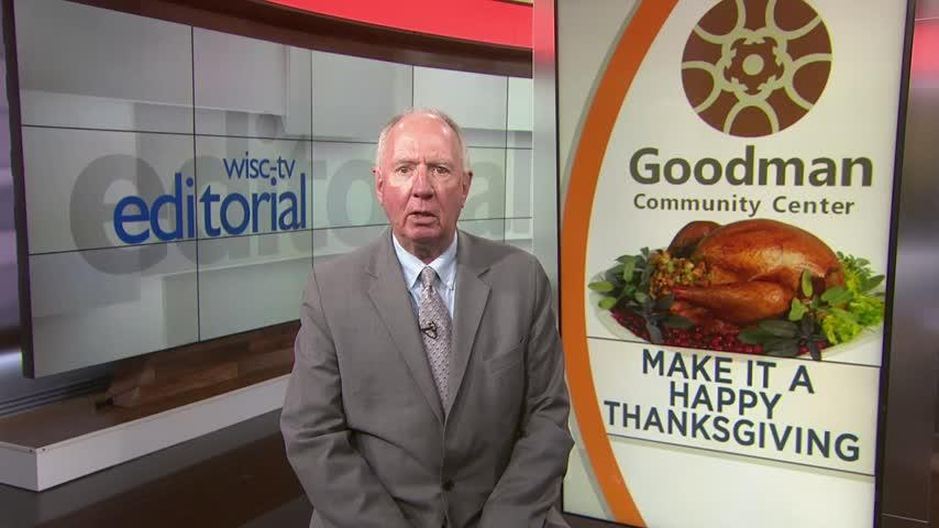 Editorial: Helping families have a happy Thanksgiving through the Goodman Community Center