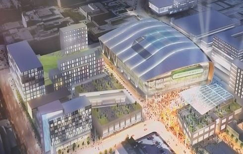 Milwaukee council approves detailed design for Bucks arena