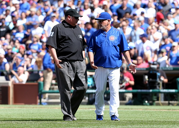 Cubs manager Maddon ejected against Diamondbacks