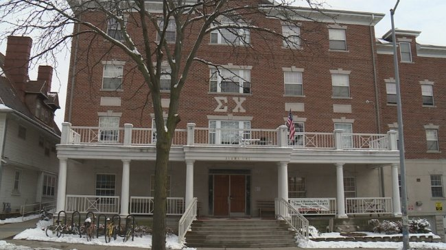 Sigma Chi fraternity suspended for violations stemming from recent party