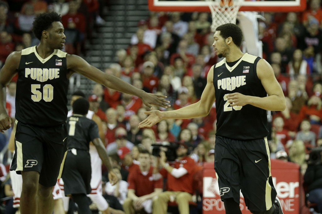 Top 25 roundup: No. 18 Purdue tops No. 8 Michigan State in OT