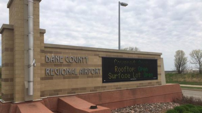 Fighter wing firefighters save woman's life on plane landing at Madison airport