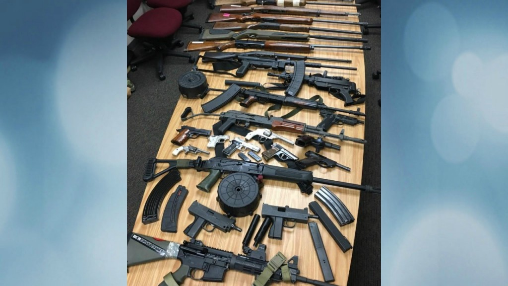 Police seize 35 firearms, thousands of rounds of ammo from Dodge County home