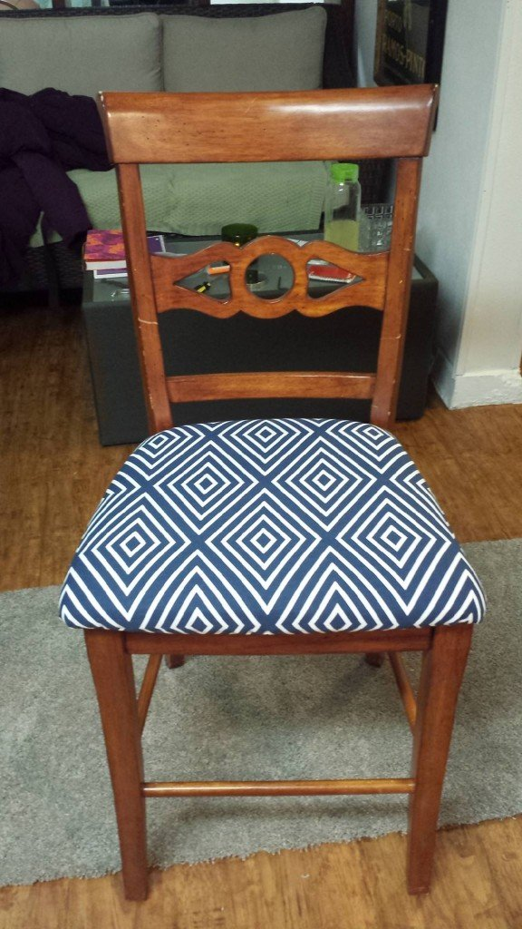 Thrift store find: $5.99 for barstools