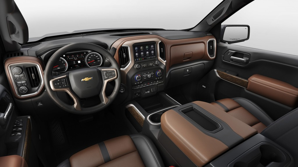Chevy Silverado is all-new for 2019