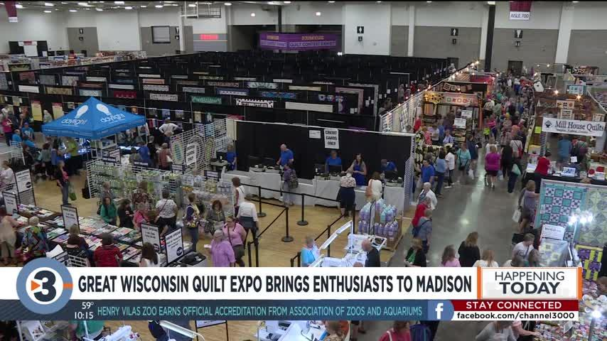 Great Wisconsin Quilt Expo brings enthusiasts to Madison