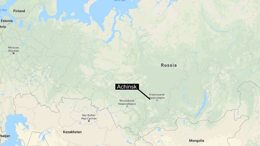 Explosions, evacuations after fire at military warehouse in Siberia