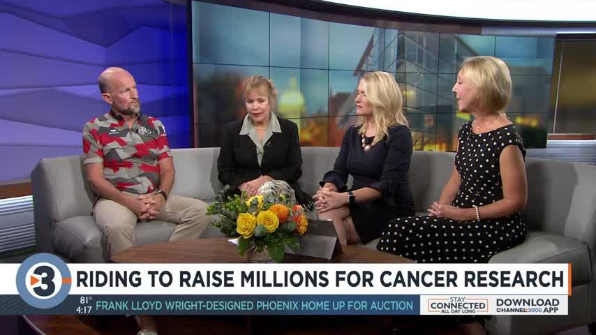 Riding to raise millions for cancer research