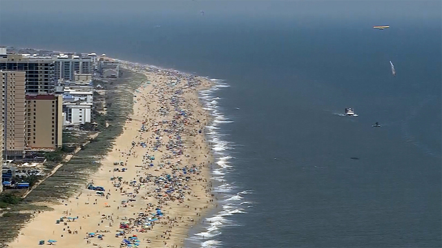 Emergency vote in Ocean City, Maryland: You can't go topless here